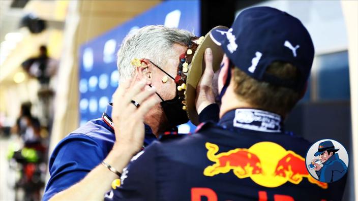 """Coulthard grapt over taart Verstappen: """"Ik weet waar Max woont"""""""