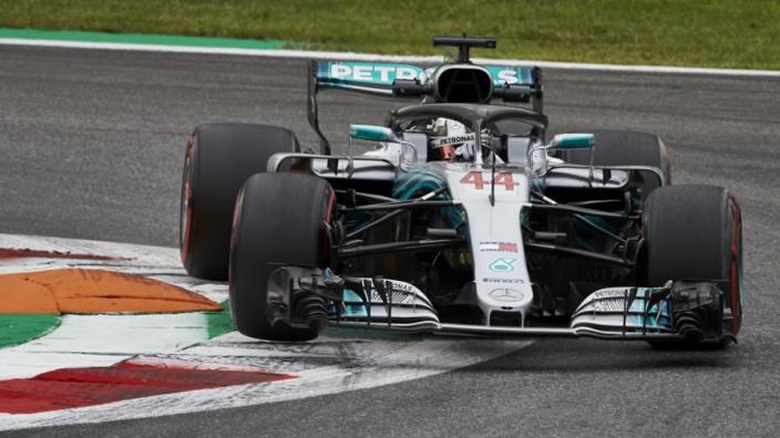 Hamilton booed by Monza tifosi