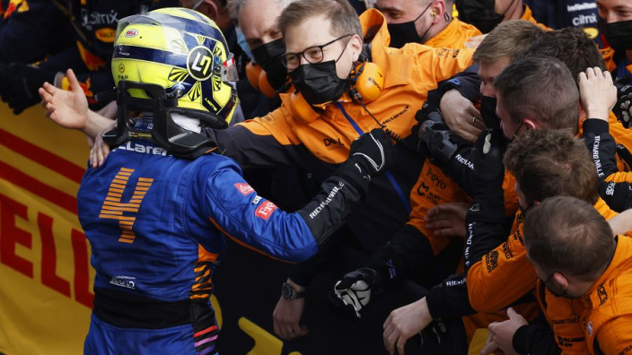 """McLaren - """"Not unrealistic"""" for Norris to claim third in F1 title race"""