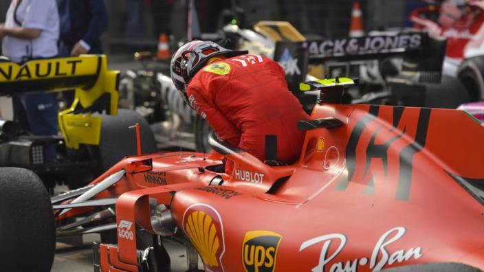 Leclerc houdt zich op de vlakte: 'Eerst bespreken met het team, voordat ik stomme dingen roep'
