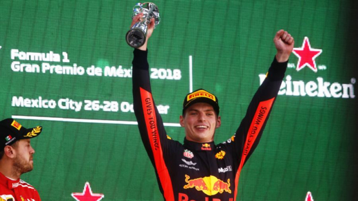 Verstappen targets Hamilton scrap in 2019 after Mexico win