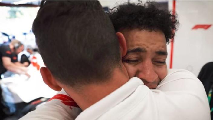 VIDEO: Blind F1 fan given unforgettable ride