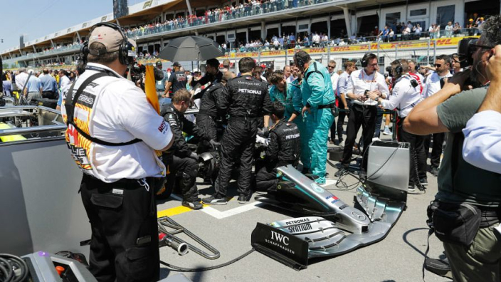 Mercedes reveal Hamilton risked not starting Canadian GP