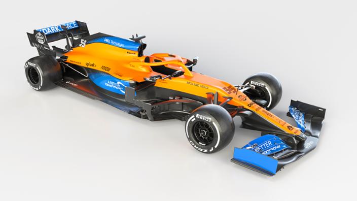 McLaren launch the MCL35