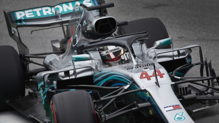 Hamilton celebrates Brazil pole amid penalty confusion