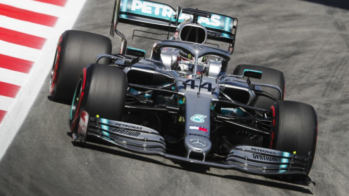 Lewis Hamilton hails Mercedes' 'history in the making'