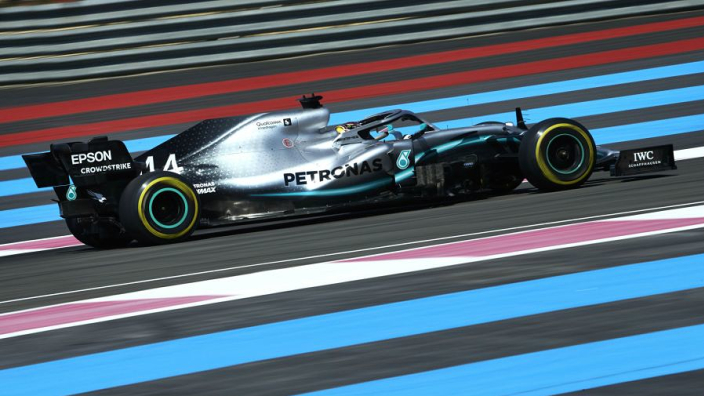 Hamilton leads French Grand Prix one-two for dominant Mercedes