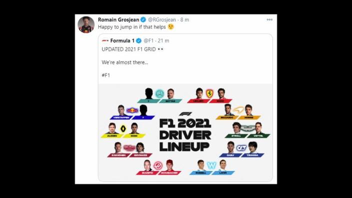 Grosjean doet 'open sollicitatie ' bij Mercedes en Red Bull Racing