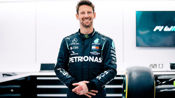 "Mercedes test ""the cherry on the cake"" for Grosjean"