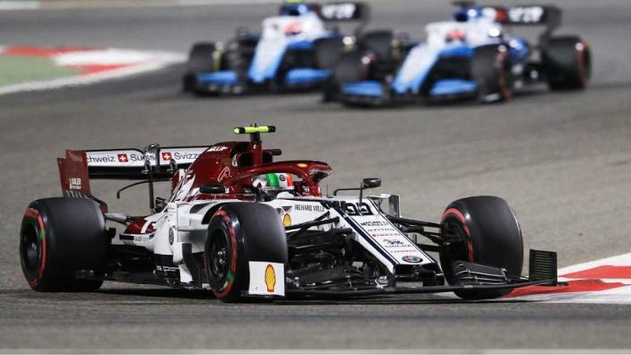 Giovinazzi benefiting from Raikkonen partnership
