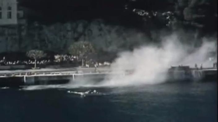 Vandaag 64 jaar geleden: F1-auto te water in Monaco