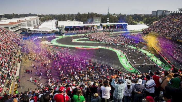 Dit is het afwijkende tijdschema voor de Grand Prix van Mexico