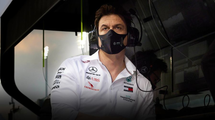 Wolff reveals positive Covid test