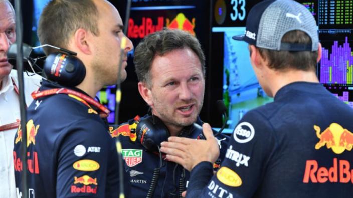 Horner over budgetlimiet: 'Belangrijk dat Red Bull dezelfde mogelijkheden heeft als Mercedes en Ferrari'