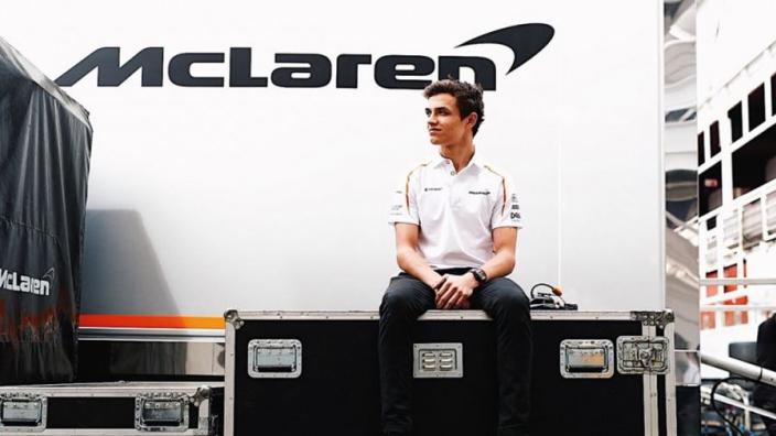 'I opened my Haribo, then I got a McLaren seat' - Norris recounts 2019 hire