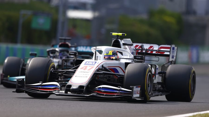 "Schumacher's Hamilton Verstappen fights Haas' ""most enjoyable"" race"