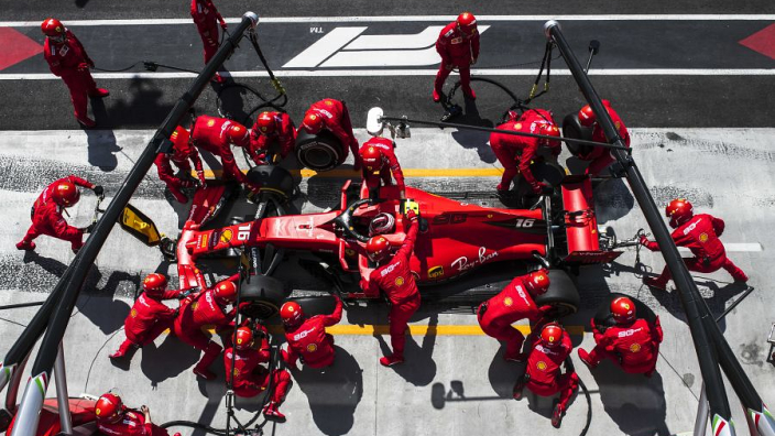 Leclerc didn't know Vettel's penalty because Ferrari 'forgot'