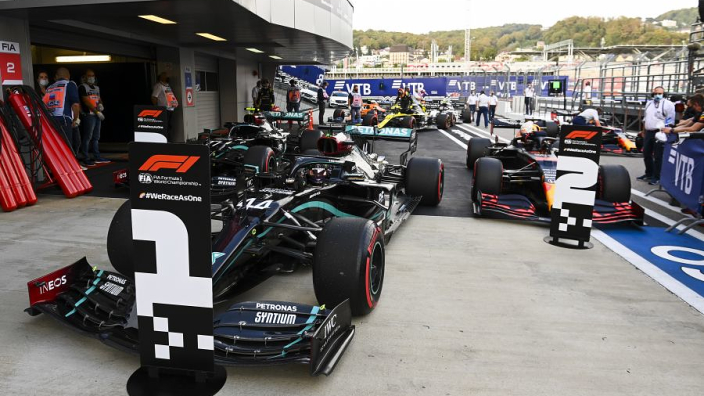 Red Bull facing 'damage limitation' to Mercedes in Monza and Sochi