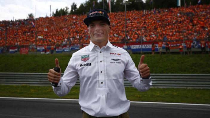 Verstappen: Racing at Spa is always special