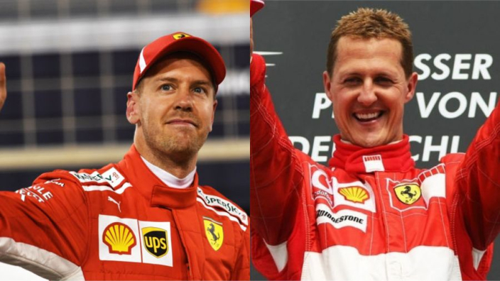 Vettel can still emulate Schumacher at Ferrari - Arrivabene
