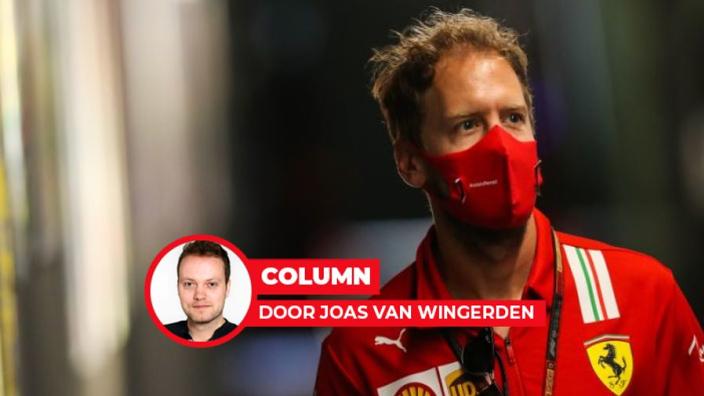 Vettel moet in België z'n Ferrari-overall inleveren