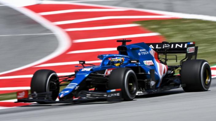 Alonso: 'Het is momenteel duidelijk niet genoeg om op niveau Ocon te staan'