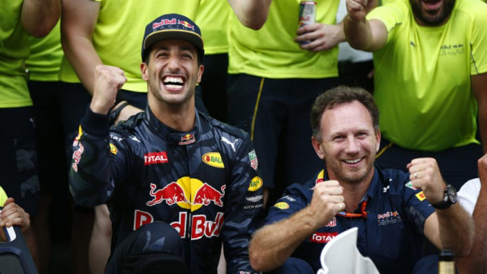Ricciardo frozen out at Red Bull for remainder of season