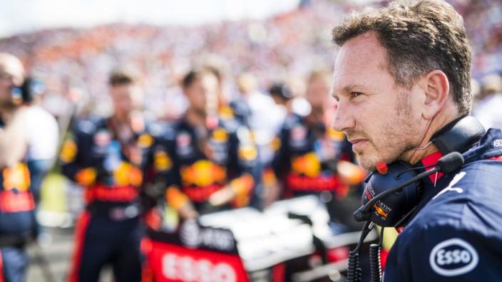 """Horner twijfelt over nieuwe motor Verstappen: """"Nog niet zeker"""""""