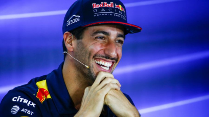 Ricciardo looking forward to 'ribs, brisket, and nachos' in USA