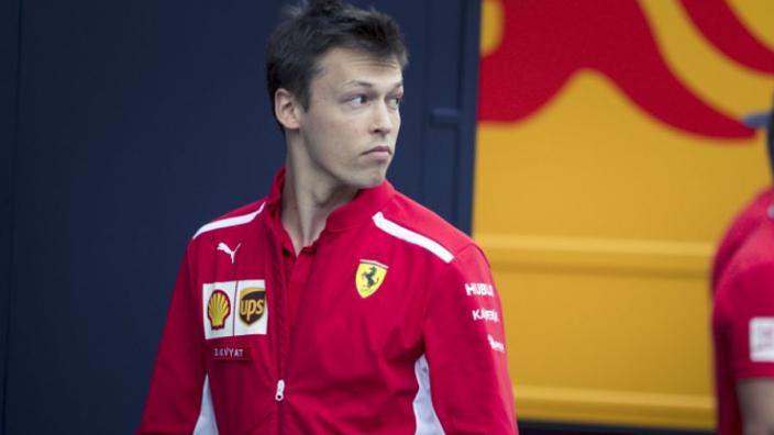 'Daniil Kvyat heeft afscheid genomen van Ferrari en is op weg naar Toro Rosso'