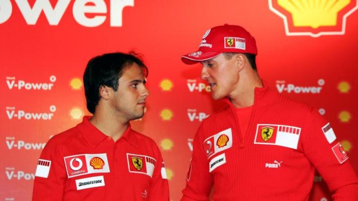 """Massa leerde Schumacher een waardevolle les: """"Hij zei, 'je hebt gelijk'"""""""