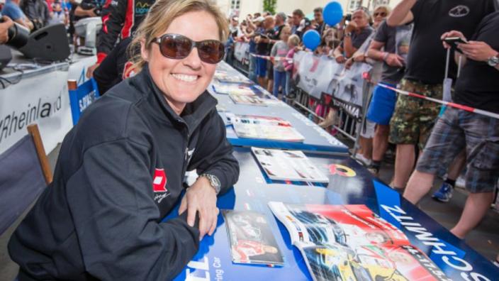 Queen of the Nürburgring Sabine Schmitz honoured with renamed corner