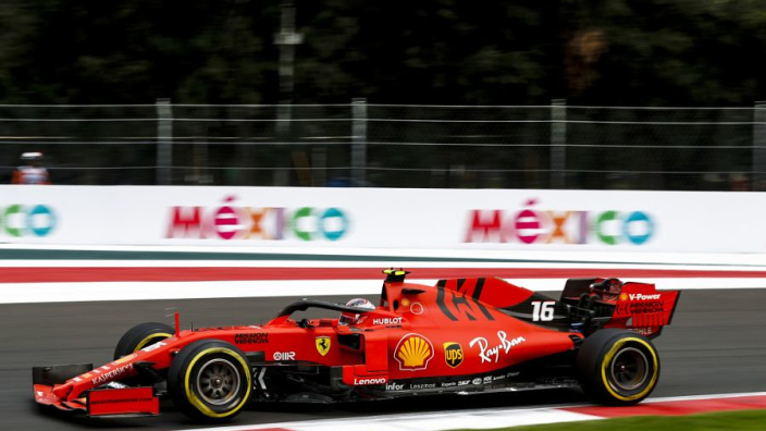 Leclerc heads Vettel in wet and wild session: Mexican GP FP3 Results