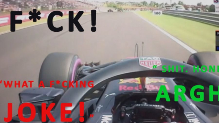 VIDEO: Verstappen's FURIOUS uncensored team radio