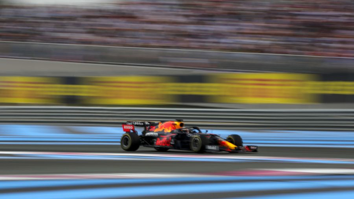 """Verstappen """"lucky"""" Red Bull two-stop gamble paid off"""