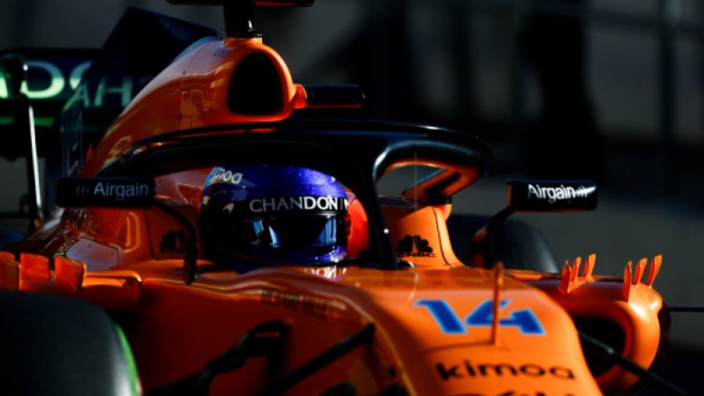Alonso delivers for McLaren
