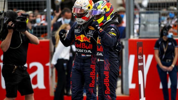 """Verstappen over samenwerking met Pérez: """"We zijn vrij om te racen"""""""
