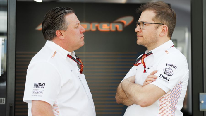 "Seidl: Happy with McLaren progress but ""we still have a long way to go"""