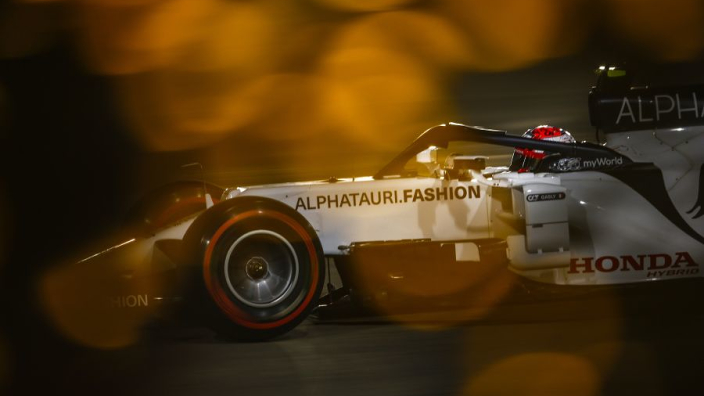 "AlphaTauri ""in the mix"" as Gasly predicts ""unusual"" Bahrain GP"