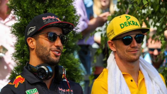 Ricciardo can bring Red Bull 'information' to Renault - Hulkenberg