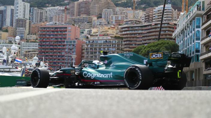 "Vettel ""white-knuckle"" ride the highlight of Monaco - Aston Martin"