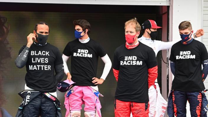 F1 reageert op kritiek Hamilton en komt met richtlijnen voor racismestatement