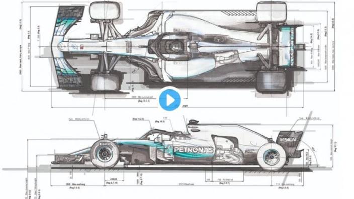 Mercedes reveal secrets behind building 2019 F1 car
