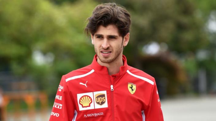 Giovinazzi staat op het lijstje van Sauber: 'Het voelt goed dat Antonio betrokken wil zijn'
