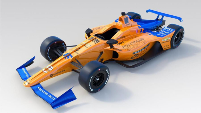 VIDEO: Alonso's Indy 500 challenger revealed