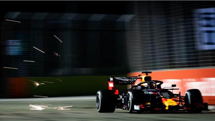 """Verstappen over podiumplaats Singapore: """"Undercut was cruciaal"""""""