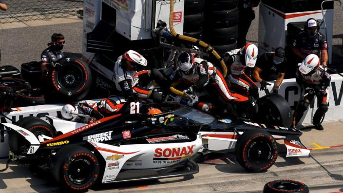 Van Kalmthout over Indy 500-debuut: 'Heb het verknald, nachtmerrie kwam uit'