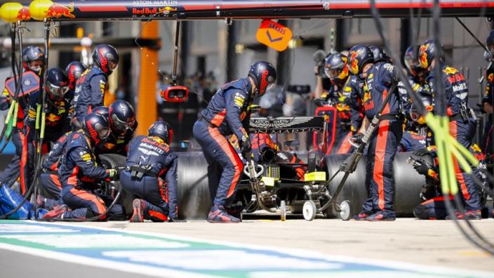 Red Bull Racing opnieuw de snelste met pitstop in Groot-Brittannië