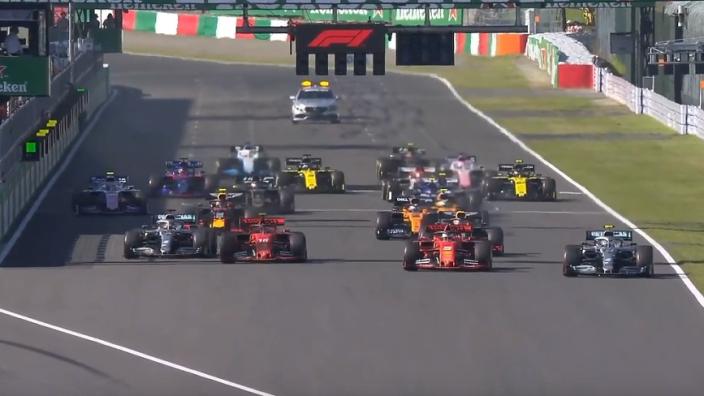 La course finalement arrêtée au 52e tour, Pérez retrouve les points
