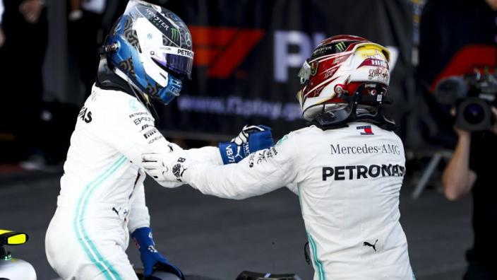 Hamilton-Bottas 'war' will last all year